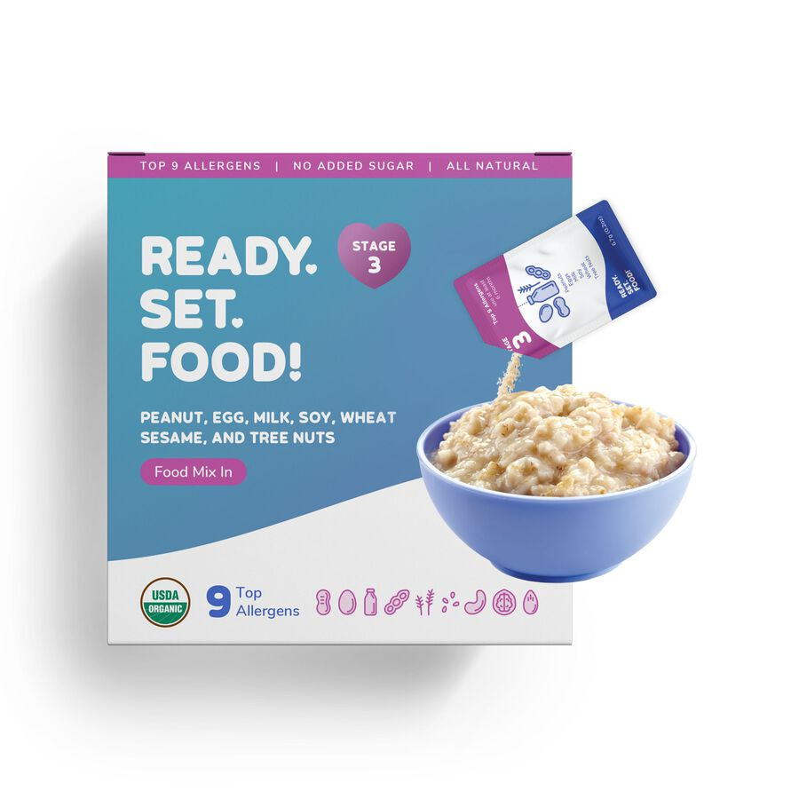 Ready, Set, Food! Early Allergen Introduction System for Babies 8+ Months, Stage 3, , large image number 2