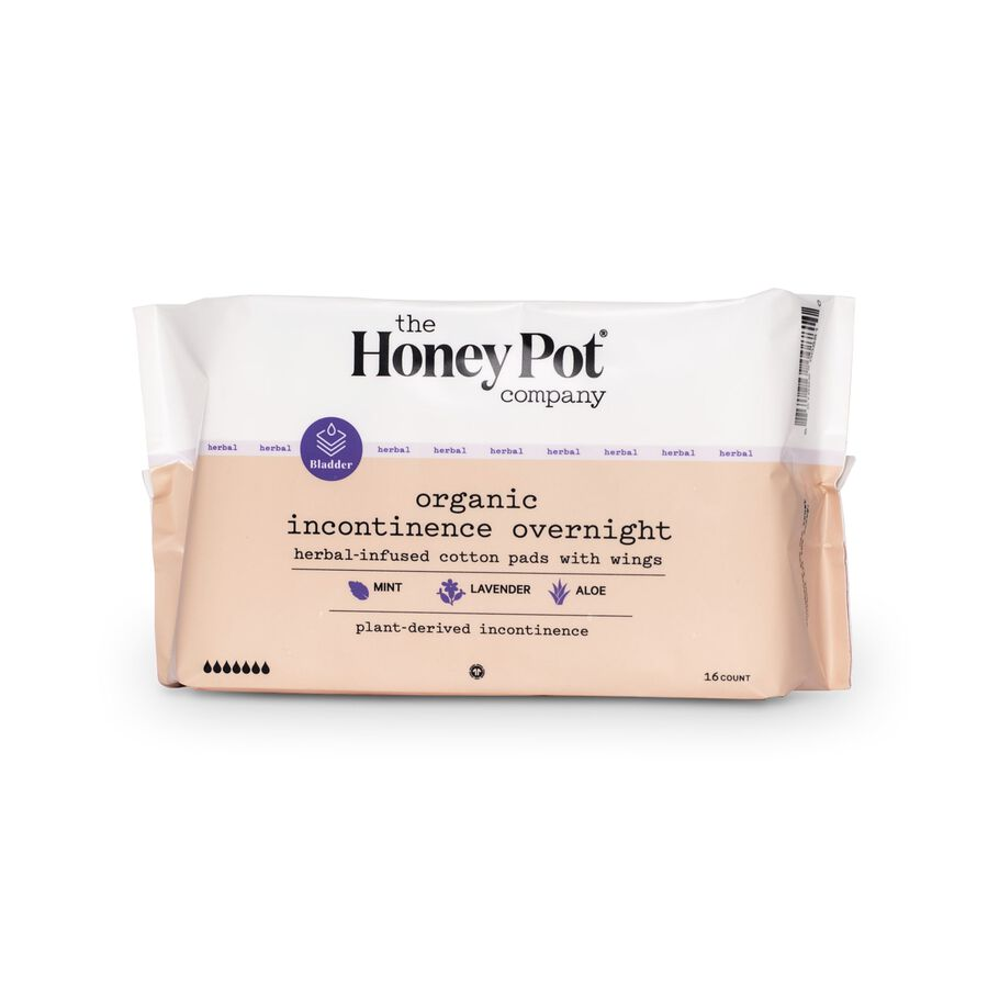 The Honey Pot Incontinence Pads, 16 ct, , large image number 1
