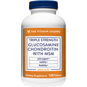 Vitamin Shoppe Triple Strength Glucosamine Chondroitin With MSM, Tablets