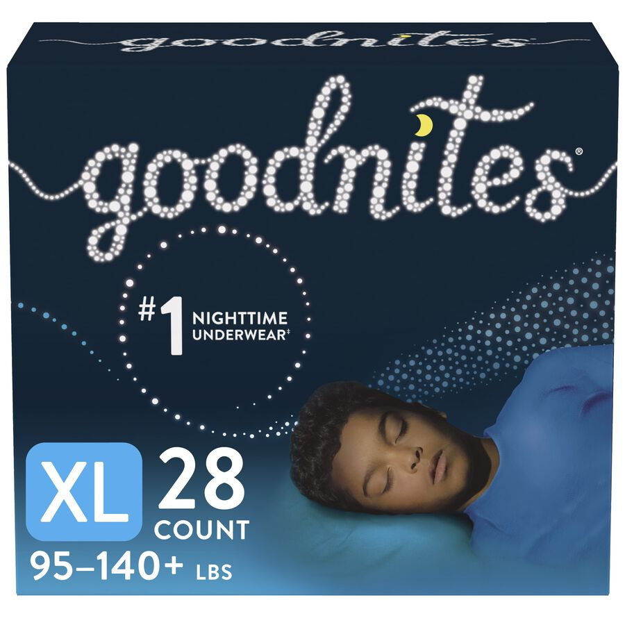 Goodnites Youth Pants for Boys, Giga Pack, , large image number 1