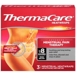 ThermaCare Menstrual Pain Therapy, 3 ct
