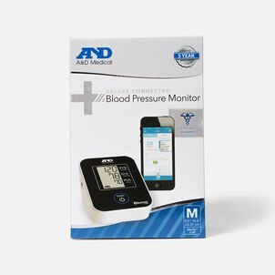 A&D Deluxe Bluetooth Connected Arm Blood Pressure Monitor