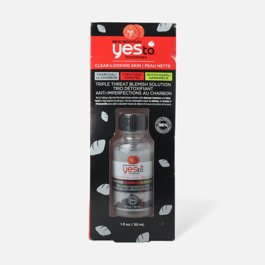 Yes To Tomatoes Charcoal Triple Threat Acne Treatment, , large image number 0