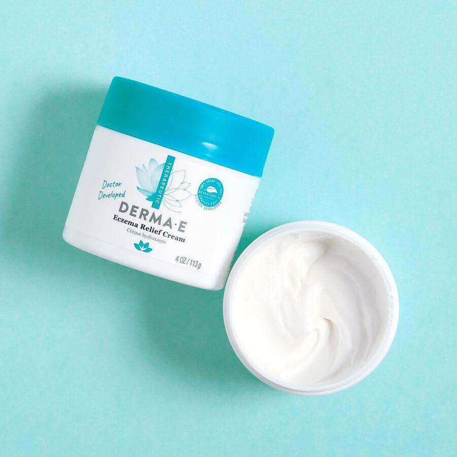 Derma E Eczema Relief Cream, 4 oz, , large image number 3