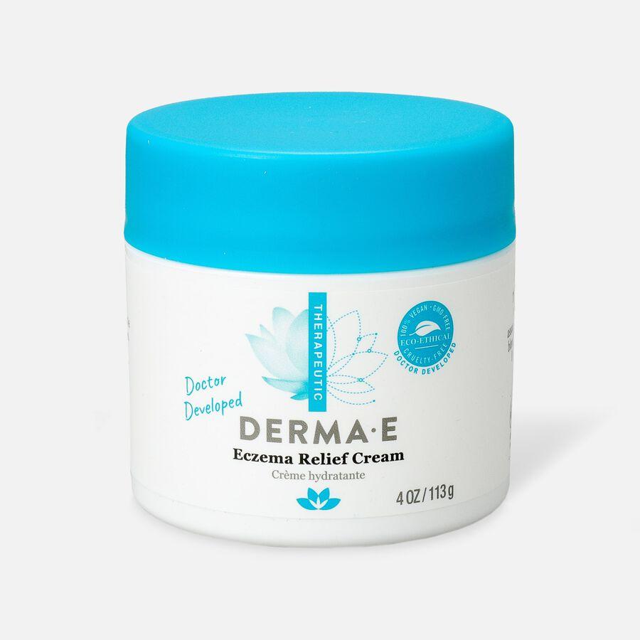 Derma E Eczema Relief Cream, 4 oz, , large image number 0