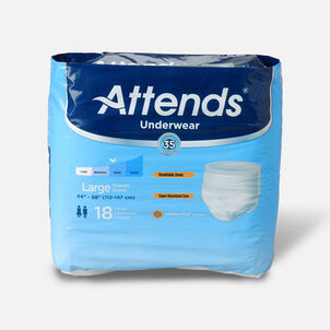 Attends Adult Extra Absorbency Protective Underwear