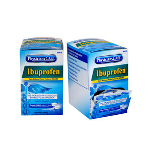 PhysiciansCare Ibuprofen, Two boxes 50x2 tablets (shrink wrapped)