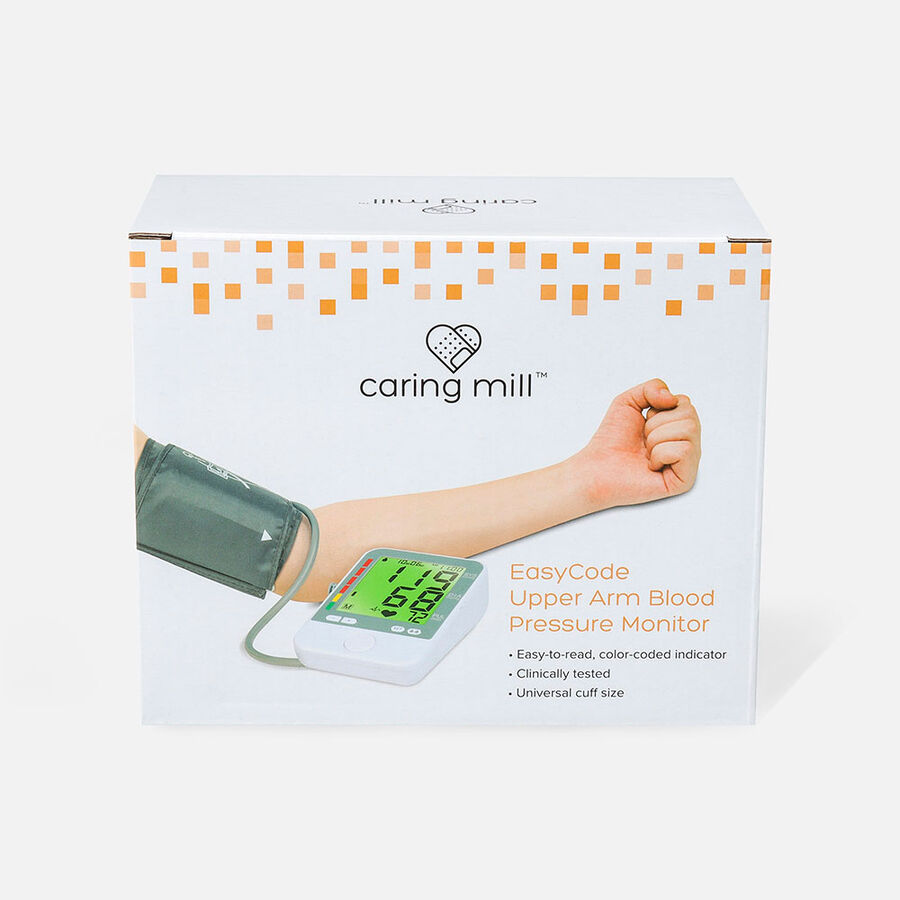 Caring Mill® EasyCode Upper Arm Blood Pressure Monitor, , large image number 0