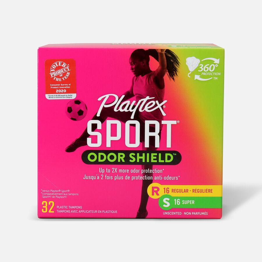 Playtex Sport Odor Shield Tampons, Multipack, 32ct (Reg/Super), , large image number 0