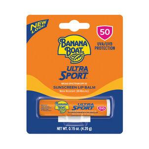 Banana Boat Ultra Sport Sunscreen Lip Balm SPF 50, 0.15oz
