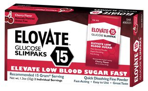 Elovate Glucose Packets, 2/box