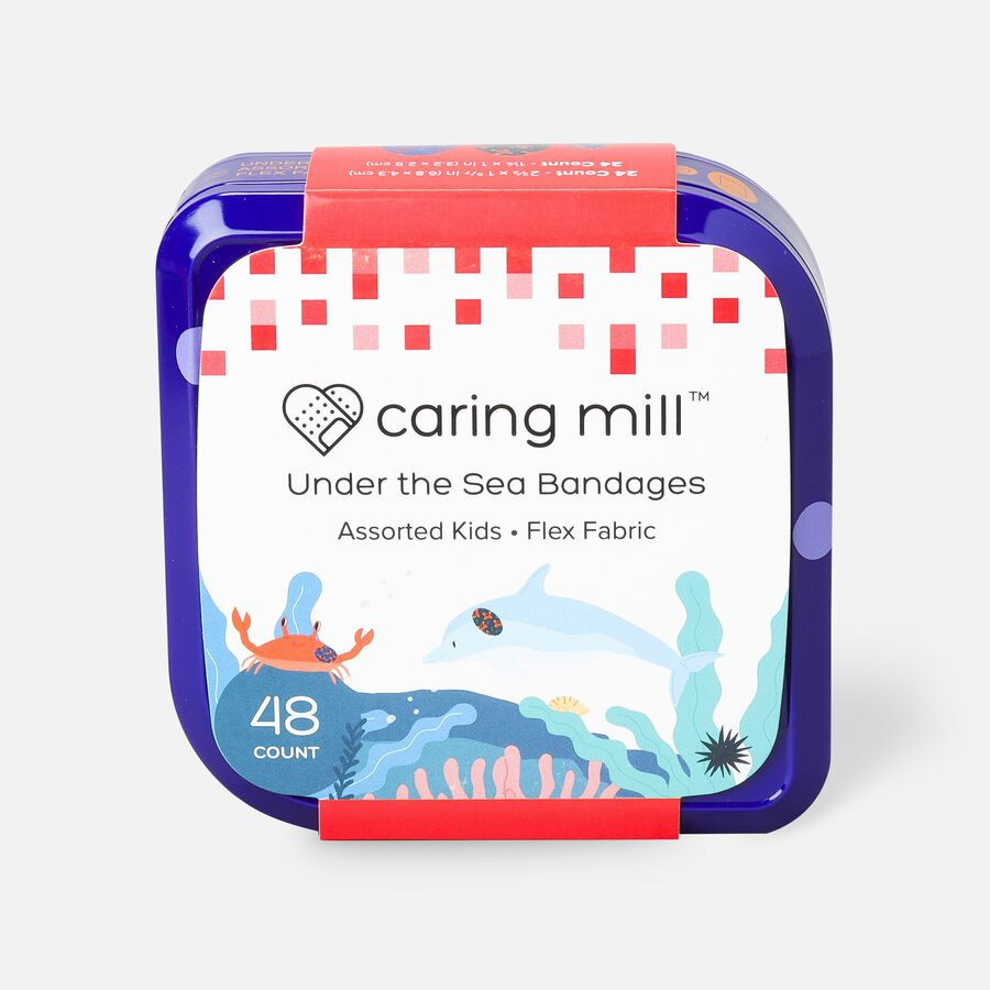 Caring Mill™ Under the Sea Bandages, , large image number 0