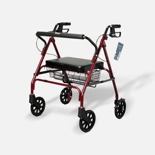 Drive Go-Lite Bariatric Rollator, Red