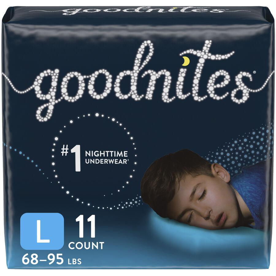Goodnites Youth Pants, Boy, Jumbo Pack, , large image number 0