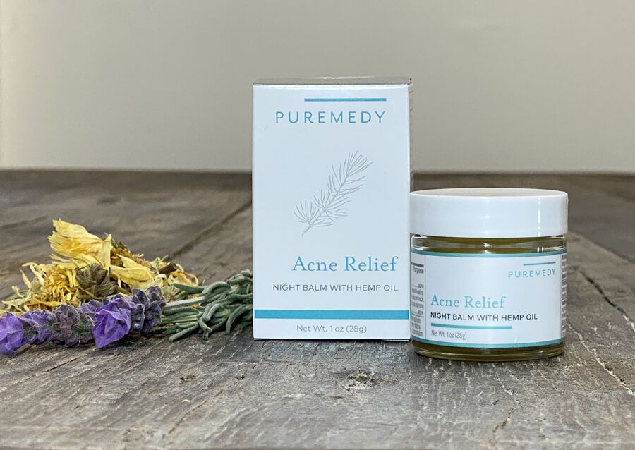 Puremedy Acne Relief Night Balm, 1 oz, , large image number 4