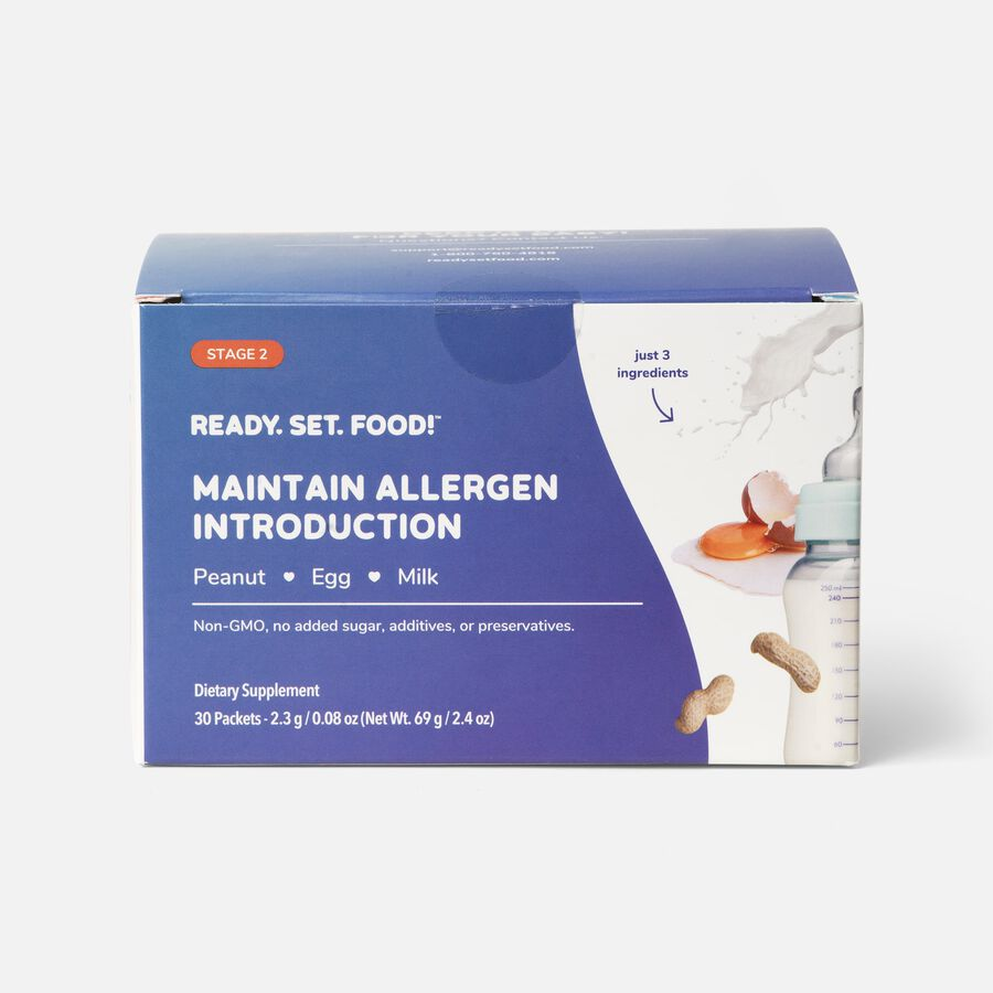 Ready, Set, Food! Early Allergen Introduction System for Babies 4+ Months, Stage 2, , large image number 0