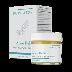 Puremedy Acne Relief Night Balm, 1 oz