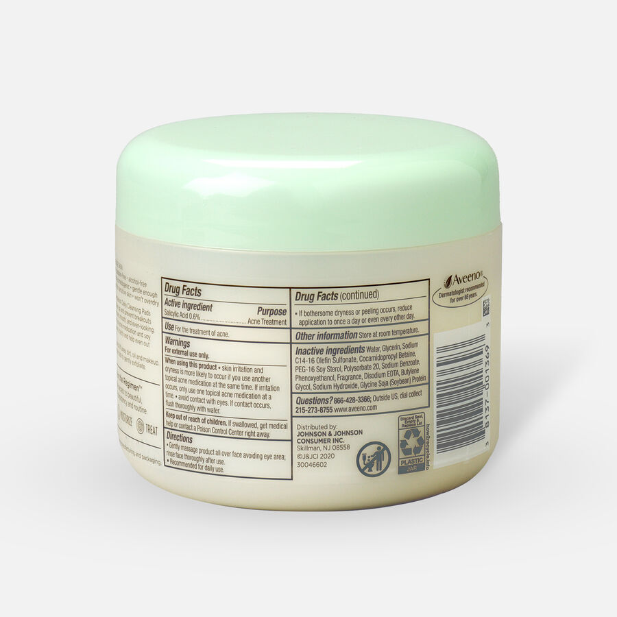 Aveeno Clear Complexion Daily Cleansing Pads - 28ct, , large image number 1