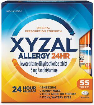 Xyzal 24 Hour Allergy Medicine