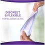 Always Discreet Boutique Incontinence Liners, Very Light Absorbency, Long Length, 111 Count, , large image number 3