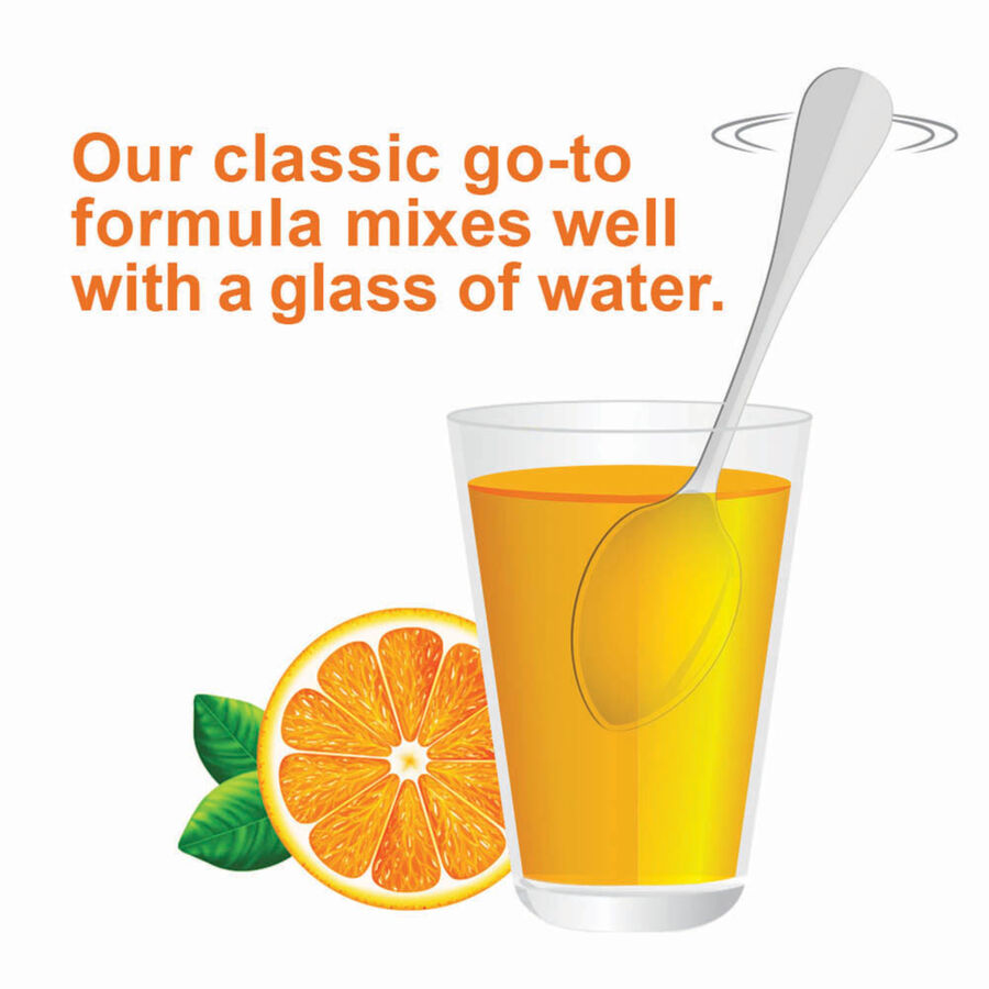 Citrucel Powder, Orange Flavor, Fiber Therapy For Occasional Constipation Relief, 30 oz, , large image number 5