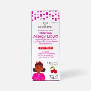 Caring Mill™ Children's Allergy Liquid, Cherry Flavor, 4 fl oz