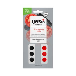 Yes To Tomatoes Charcoal Zit Zapping Dots, 24 ct