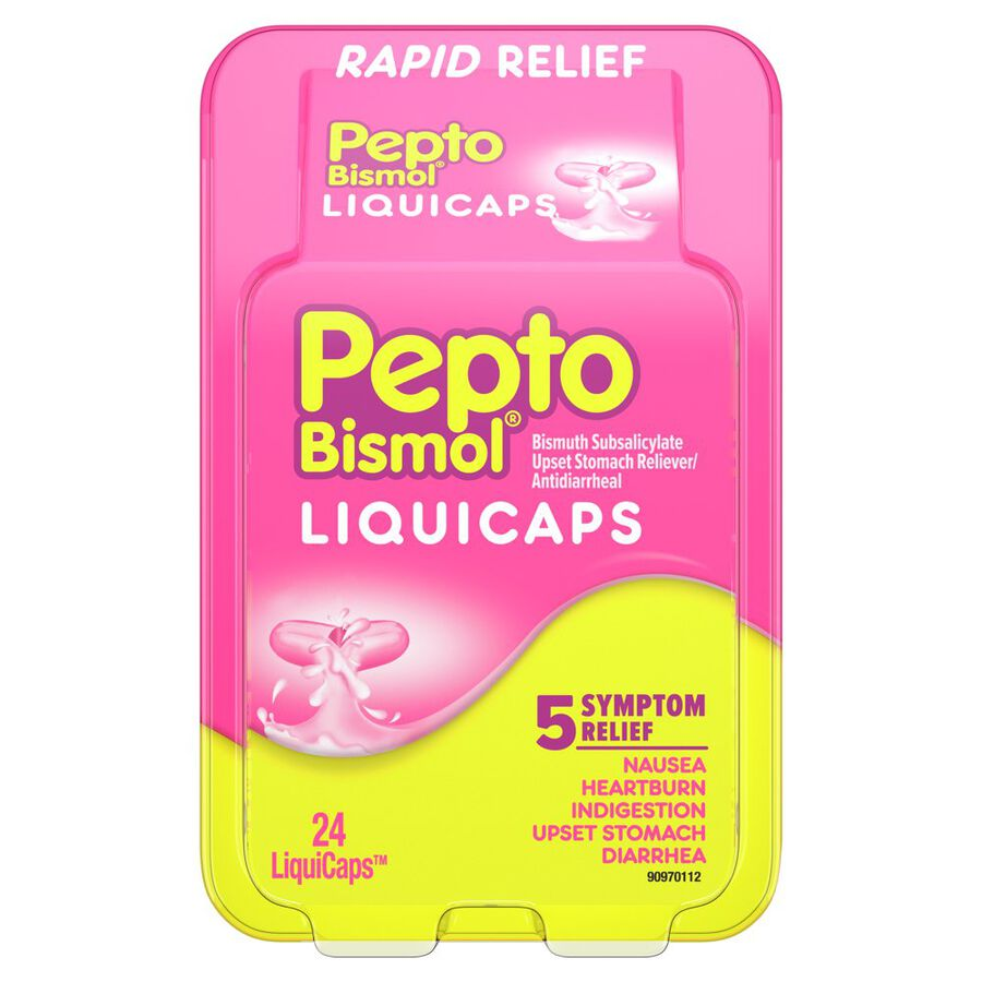 Pepto Bismol LiquiCaps, 24 ct, , large image number 0