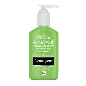 Neutrogena Oil-Free Redness Soothing Acne Wash, 6oz