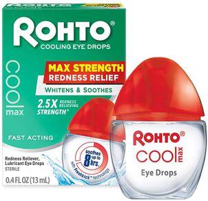Rohto Cool Max Redness Relief Eye Drops, 13 mL
