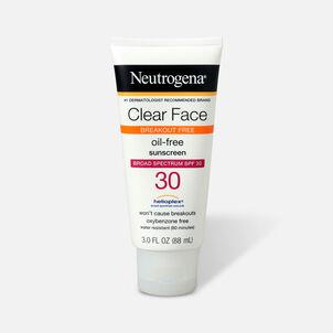 Neutrogena Clear Face Liquid Sunscreen Lotion SPF 30 - 3 fl oz