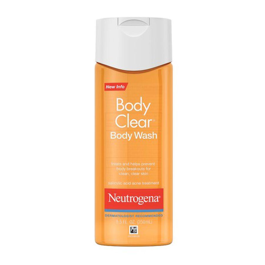 Neutrogena Body Clear Body Wash, 8.5oz, , large image number 0