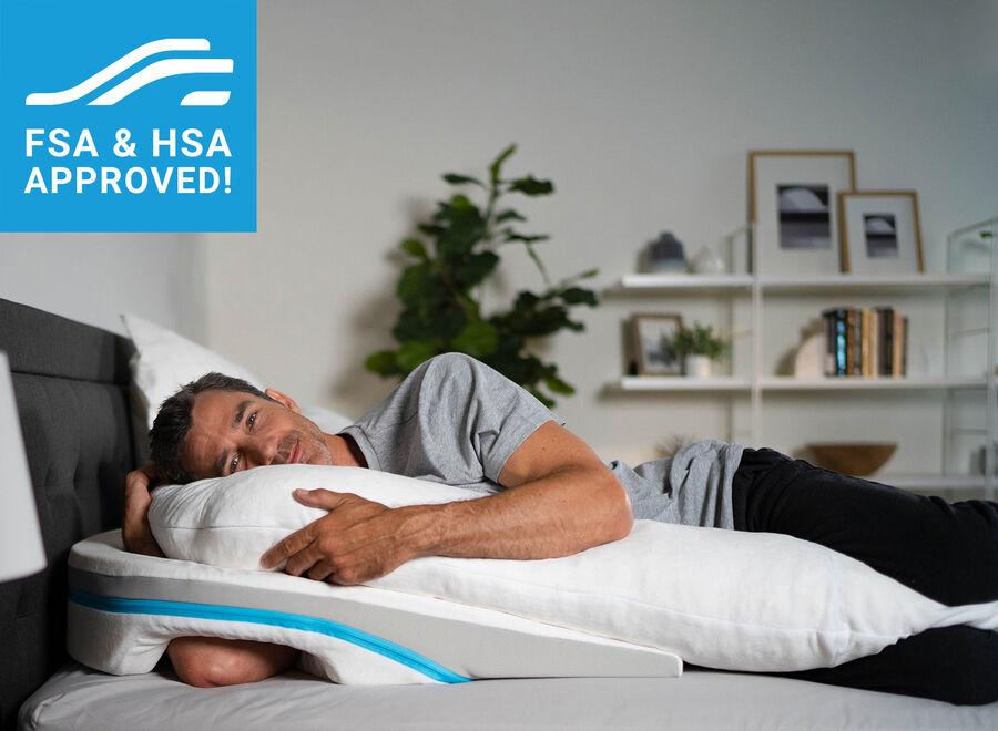 MedCline Shoulder Relief System + Extra Cases Bundle, One Size, , large image number 11