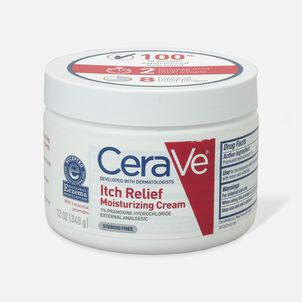 CeraVe Moisturizing Cream for Itch Relief