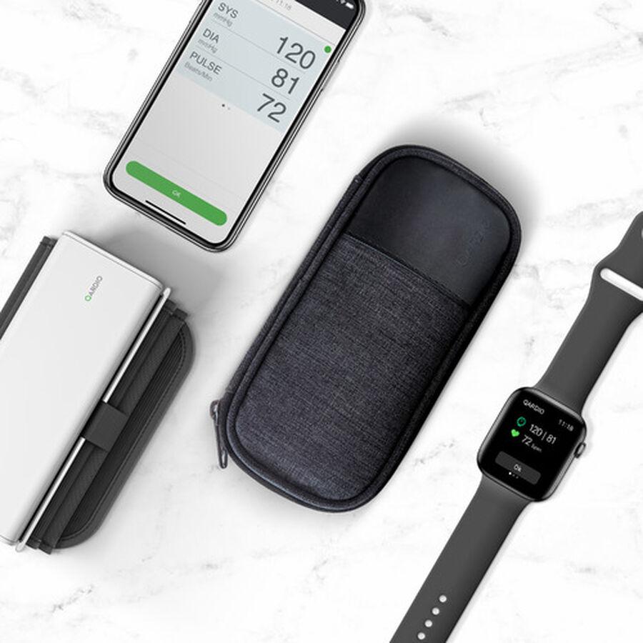QardioArm Smart Blood Pressure Monitor with Case, , large image number 1
