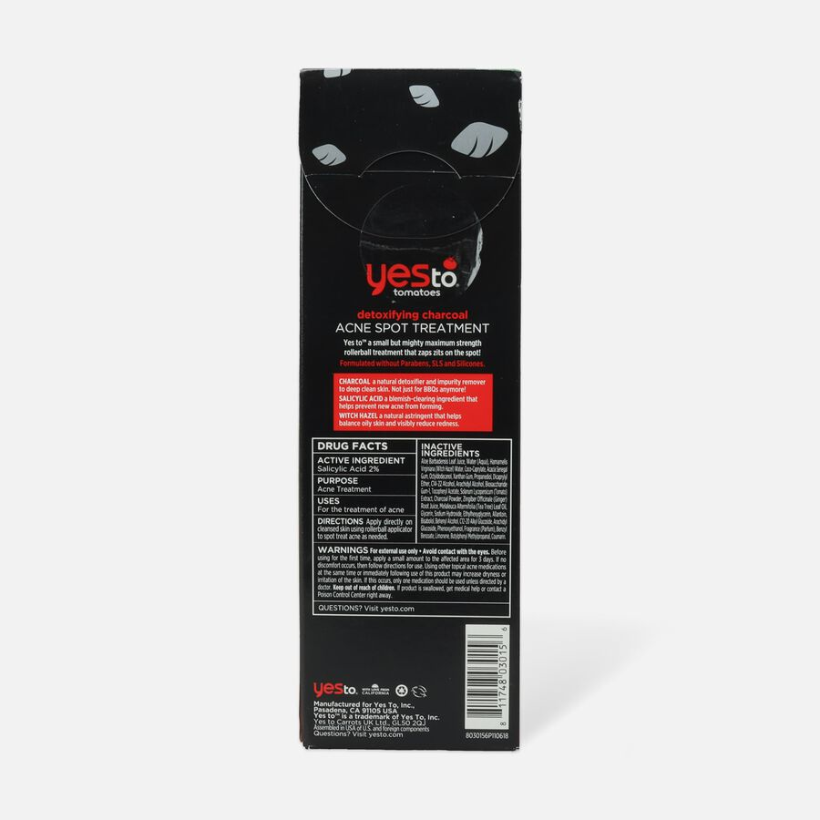 Yes To Tomatoes Charcoal Detoxifying Spot Treatment, , large image number 2