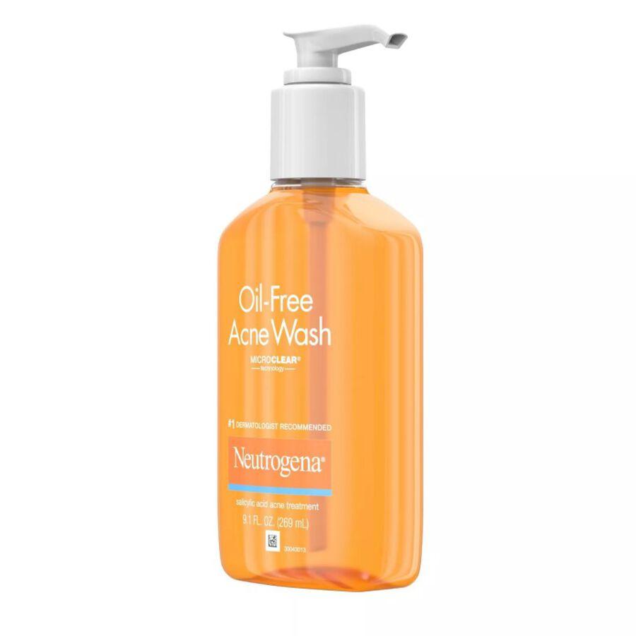 Neutrogena Oil-Free Acne Wash 9.1 fl oz, , large image number 5