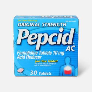 Original Strength PEPCID AC Tablets, 30 Count