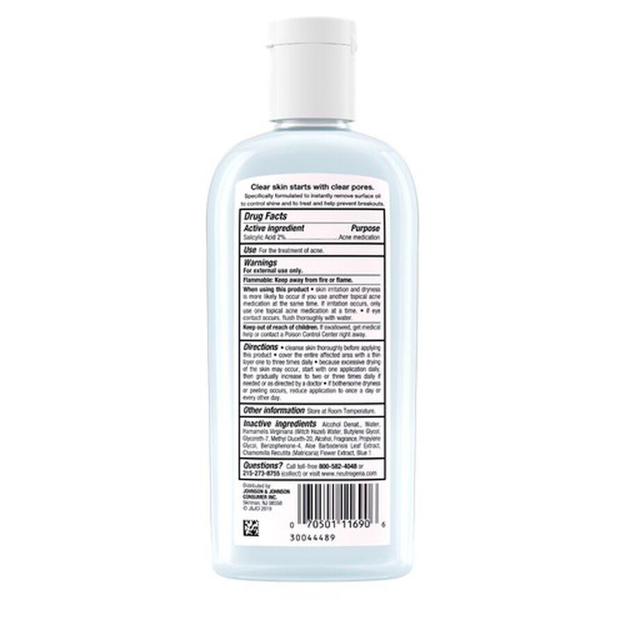 Neutrogena Clear Pore Oil-Eliminating Astringent, 8oz., , large image number 3