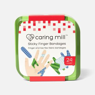 Caring Mill™ Sticky Finger Bandages-24CT