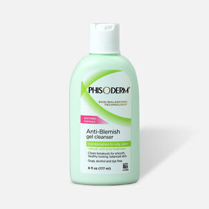 Phisoderm Anti-Blemish Gel Cleanser, 6oz