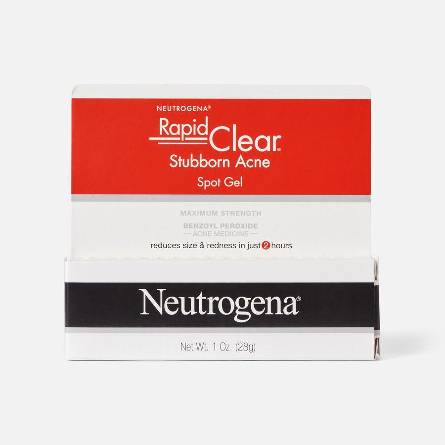 Neutrogena Rapid Clear Stubborn Acne Spot Gel, 1oz, , large image number 1