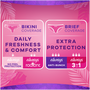 Always Thin No Feel Protection Daily Liners Regular Absorbency Unscented, 162 Count, , large image number 2