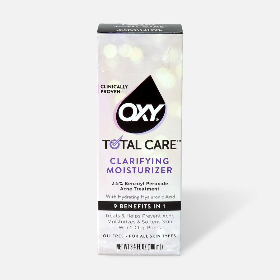 OXY Total Care Clarifying Daily Facial Moisturizer - 3.4oz, , large image number 0
