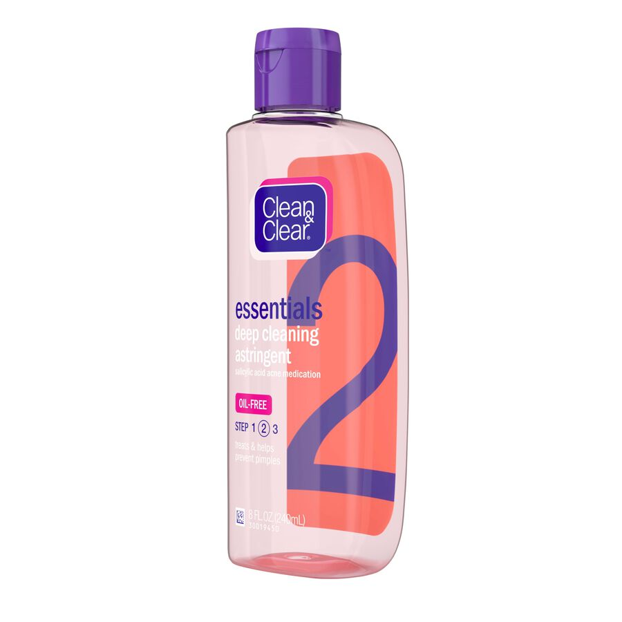 Clean & Clear Essentials Deep Cleansing Oil Free Astringent , 8 fl oz, , large image number 3
