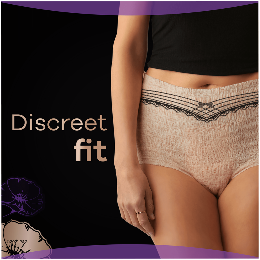 Always Discreet Boutique Max Incontinence Underwear, Large, 18 ct, , large image number 3