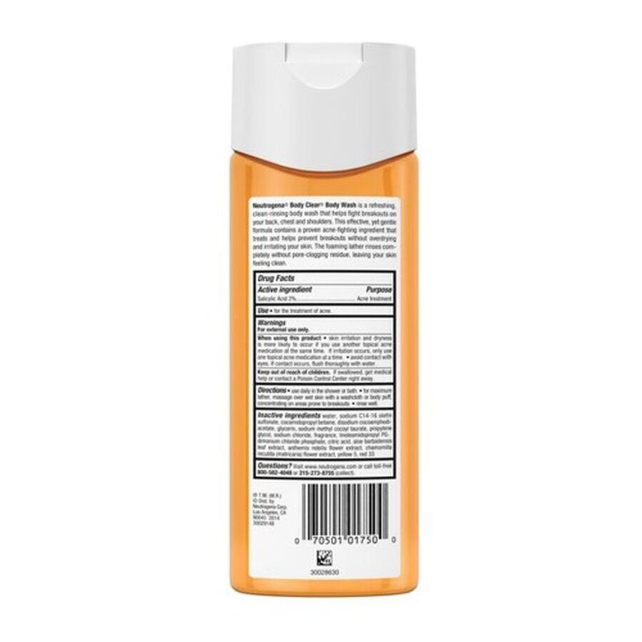 Neutrogena Body Clear Body Wash, 8.5oz, , large image number 3