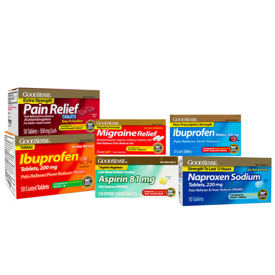 GoodSense® Pain Relief OTC Bundle, , large image number 0