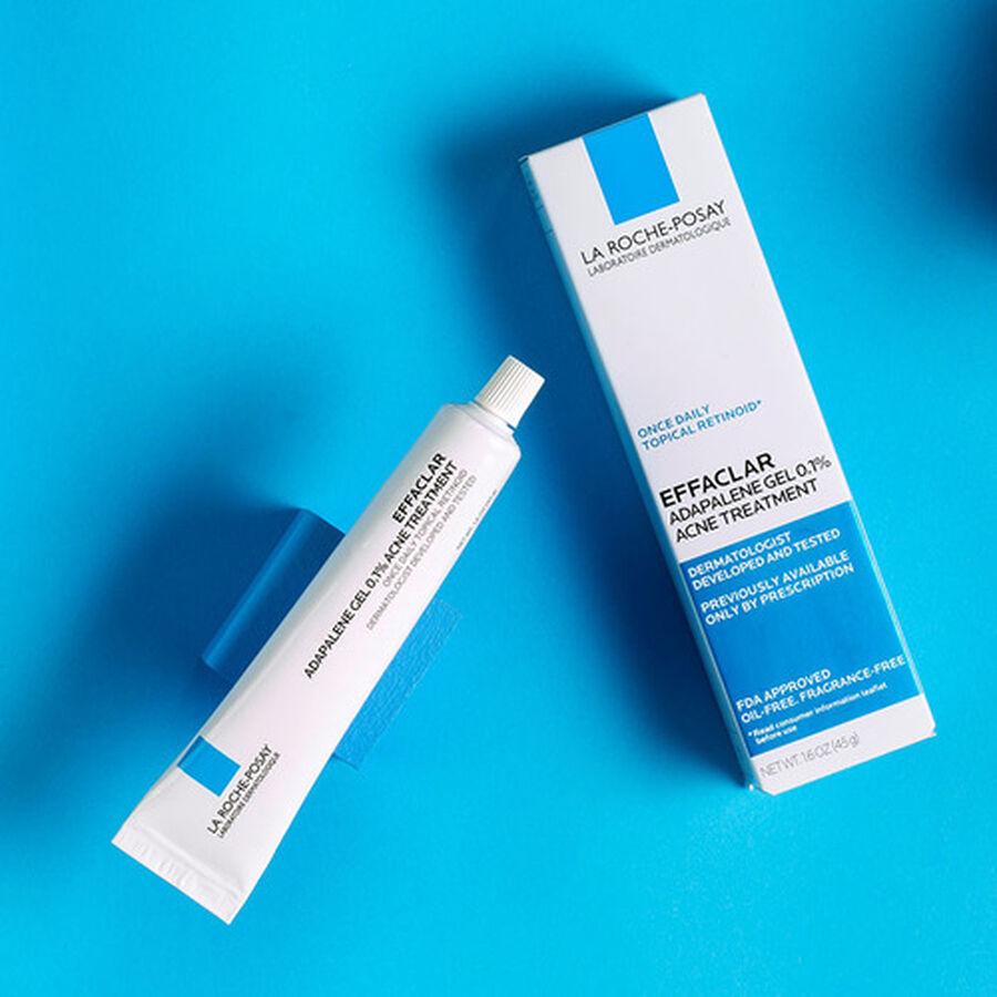 La Roche-Posay Effaclar Adapalene Gel 0.1%, Retinoid Acne Treatment, 1.6oz, , large image number 5