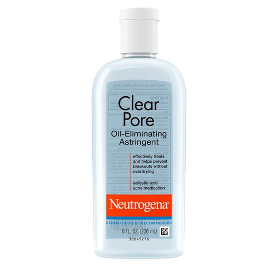 Neutrogena Clear Pore Oil-Eliminating Astringent, 8oz., , large image number 0
